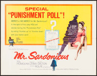 "Mr. Sardonicus (Columbia, 1961). Half Sheet (22"" X 28""). Horror"