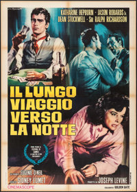 "Long Day's Journey Into Night (Golden Gate, 1968). Italian 2 - Fogli (39"" X 55""). Drama"