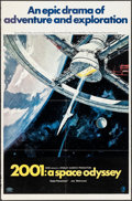 "Movie Posters:Science Fiction, 2001: A Space Odyssey (MGM, 1968). One Sheet (27"" X 41"") Style A. Science Fiction.. ..."