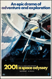 """2001: A Space Odyssey (MGM, 1968). One Sheet (27"""" X 41"""") Style A. Science Fiction"""
