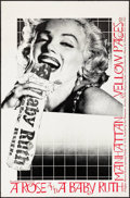 """Movie Posters:Miscellaneous, A Rose and a Baby Ruth (1976). Theatre Poster (23"""" X 35"""").Miscellaneous.. ..."""