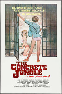 "The Concrete Jungle (Pentagon, 1982). One Sheets (29) Identical (27"" X 41""). Flat Folded. Bad Girl. ... (Total..."