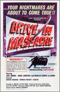 "Drive-In Massacre (S.A.M. Productions, 1976). Identical One Sheets (15) (27"" X 41""). Horror. ... (Total: 15 It..."