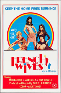 """French Wives & Other Lot (1979). One Sheets (20) (27"""" X 41""""). Adult. ... (Total: 20 Items)"""