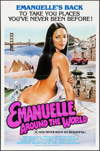 """Emanuelle Around the World (Jerry Gross, 1980). One Sheets (10) Identical (27"""" X 41""""). Adult. ... (Total: 10 I..."""