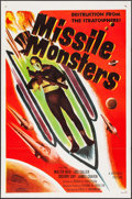"Movie Posters:Science Fiction, Missile Monsters (Republic, 1958). Identical Flat Folded One Sheets (2) (27"" X 41""). Science Fiction.. ... (Total: 2 Items)"