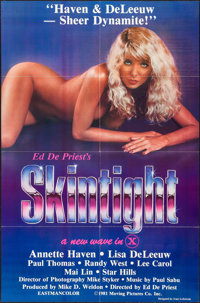 """Skintight & Other Lot (Moving Pics Co., 1981). Identical One Sheets (20) (27"""" X 41""""). Adult. ... (Tota..."""