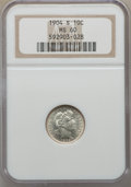 Barber Dimes: , 1904-S 10C MS60 NGC. NGC Census: (1/48). PCGS Population: (2/64).CDN: $600 Whsle. Bid for problem-free NGC/PCGS MS60. Mint...