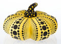 Post-War & Contemporary:Contemporary, Yayoi Kusama (b. 1929). Pumpkin (Yellow and Black), 2012.Plush. 15 x 22 x 22 inches (38.1 x 55.9 x 55.9 cm). Produced b...