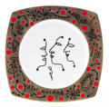 Post-War & Contemporary:Contemporary, Yayoi Kusama (b. 1929). The Me That I Adore- Fish, 2013.Ceramic. 9 x 9 inches (22.9 x 22.9 cm). With printed artist's s...