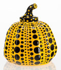 Post-War & Contemporary:Contemporary, Yayoi Kusama (b. 1929). Yellow Pumpkin, 2013. Painted castresin. 4 x 3-1/4 x 3-1/4 inches (10.2 x 8.3 x 8.3 cm). Stampe...