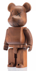 Post-War & Contemporary:Sculpture, KAWS (b. 1974). BWWT 400% Be@rbrick, 2005. Karimoku wood.10-1/2 x 5-1/2 x 3-3/4 inches (26.7 x 14.0 x 9.5 cm). Incised ...