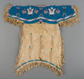 American Indian Art:Beadwork and Quillwork, A Sioux Pictorial Beaded Hide Dress...