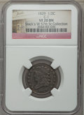 Half Cents, 1829 1/2 C C-1, B-1, R.1, VF20 NGC. Ex: Stack's W 57th St Collection. NGC Census: (3/333). PCGS Population: (0/8). CDN: $64...