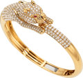 Estate Jewelry:Bracelets, Diamond, Ruby, Gold Bracelet . ...
