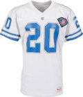 Football Collectibles:Uniforms, 1994 Barry Sanders Game Worn Detroit Lions Jersey with Multiple Photo Matches & Lions Team Letter....