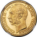 Danish West Indies, Danish West Indies: Christian IX gold 4 Daler (20 Francs) 1905(h)-GI PR65 Cameo NGC,...