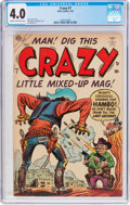 Golden Age (1938-1955):Humor, Crazy #7 (Atlas, 1954) CGC VG 4.0 Cream to off-white pages....