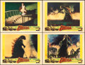 "Movie Posters:Science Fiction, Godzilla (Trans World, 1956). Lobby Cards (4) (11"" X 14"").. ...(Total: 4 Items)"