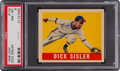 Baseball Cards:Singles (1940-1949), 1948 Leaf Dick Sisler #143 PSA NM-MT 8 - None Higher....