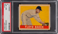 Baseball Cards:Singles (1940-1949), 1948 Leaf Floyd Baker #153 PSA NM-MT 8 - None Higher. ...