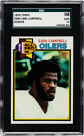 Football Cards:Singles (1970-Now), 1979 Topps Earl Campbell #390 SGC 98 Gem 10 - The Reigning SGC Champion! ...