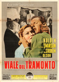 "Movie Posters:Film Noir, Sunset Boulevard (Paramount, 1950). Italian 2 - Fogli (39"" X 54"")....."