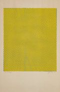 Fine Art - Work on Paper:Print, Jim Bray (American, 1933-1978). Untitled, 1970. Offsetlithograph in colors on paper. 35 x 23 inches (88.9 x 58.4 cm)(s...
