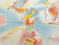 Fine Art - Work on Paper:Print, Peter Max (American, b. 1937). Boat Flyer, 1980. Lithographin colors. 17-5/8 x 22-3/4 inches (44.8 x 57.8 cm) (sheet). ...