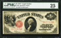 Large Size:Legal Tender Notes, Fr. 39 $1 1917 Legal Tender PMG Very Fine 25.. ...