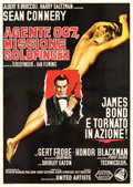 "Movie Posters:James Bond, Goldfinger (United Artists, 1964). Italian 4 - Fogli (55"" X 77"")....."