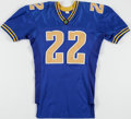 """Football Collectibles:Others, Dawson California Crusaders Jersey - Used In """"Any Given Sunday"""" Movie...."""