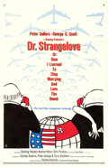 "Movie Posters:Comedy, Dr. Strangelove or: How I Learned to Stop Worrying and Love theBomb (Columbia, 1964). One Sheet (27"" X 41"") Day-Glo Style, ..."