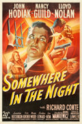 "Movie Posters:Film Noir, Somewhere in the Night (20th Century Fox, 1946). One Sheet (27"" X41"").. ..."