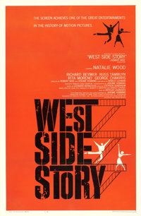 "West Side Story (United Artists, 1961). One Sheet (27"" X 41"")"