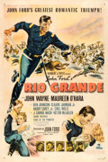 "Movie Posters:Western, Rio Grande (Republic, 1950). One Sheet (27"" X 41"").. ..."