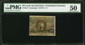 Fractional Currency:Second Issue, Fr. 1317 50¢ Second Issue PMG About Uncirculated 50.. ...