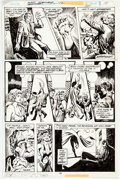 Mike Vosburg and Ernie Chan Marvel Premiere #42 Page 14 Original Art (Marvel, 19 Comic Art