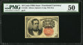Fractional Currency:Fifth Issue, Fr. 1265 10¢ Fifth Issue PMG About Uncirculated 50.. ...