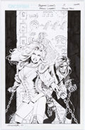 Original Comic Art:Covers, Aaron Lopresti and Roland Paris Sojourn #17 Cover Original Art (CrossGen, 2002)....