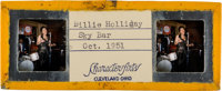 Jazz - Ninety Unpublished Color Stereoscopic Slides of Billie Holiday, Ella Fitzgerald, Sarah Vaughn, and Others Perform...