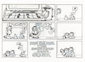 Original Comic Art:Comic Strip Art, Jim Davis Garfield Sunday Comic Strip Original Art dated2-6-94 (United Feature Syndicate, 1994)....