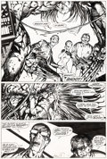 Original Comic Art:Panel Pages, Barry Windsor-Smith Marvel Comics Presents #83 Story Page 1Wolverine/Weapon-X Original Art (Marvel, 1991)....