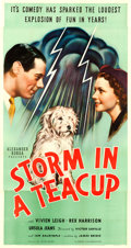 "Movie Posters:Comedy, Storm in a Teacup (United Artists, 1938). Three Sheet (41"" X 81"")....."