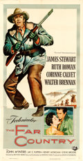 "Movie Posters:Western, The Far Country (Universal International, 1955). Three Sheet (41"" X 81"") Reynold Brown Artwork.. ..."