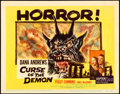 """Movie Posters:Horror, Curse of the Demon (Columbia, 1957). Title Lobby Card (11"""" X 14"""")....."""