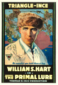 "Movie Posters:Drama, The Primal Lure (Triangle-Ince, 1916). One Sheet (27"" X 41"").. ..."