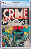 Golden Age (1938-1955):Crime, Crime Does Not Pay #28 Mile High Pedigree (Lev Gleason, 1943) CGC NM+ 9.6 White pages....