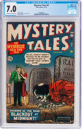 Golden Age (1938-1955):Horror, Mystery Tales #5 (Atlas, 1952) CGC FN/VF 7.0 Off-white to whitepages....