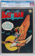 Golden Age (1938-1955):Superhero, Batman #17 (DC, 1943) CGC VF 8.0 Off-white to white pages....